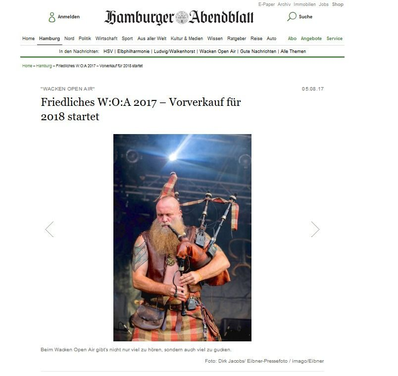 Friedliches W O A 2017 – Vorverkauf für 2018 startet Hamburg Aktuelle News aus den Stadtteilen Hamburger Abendblatt(1)