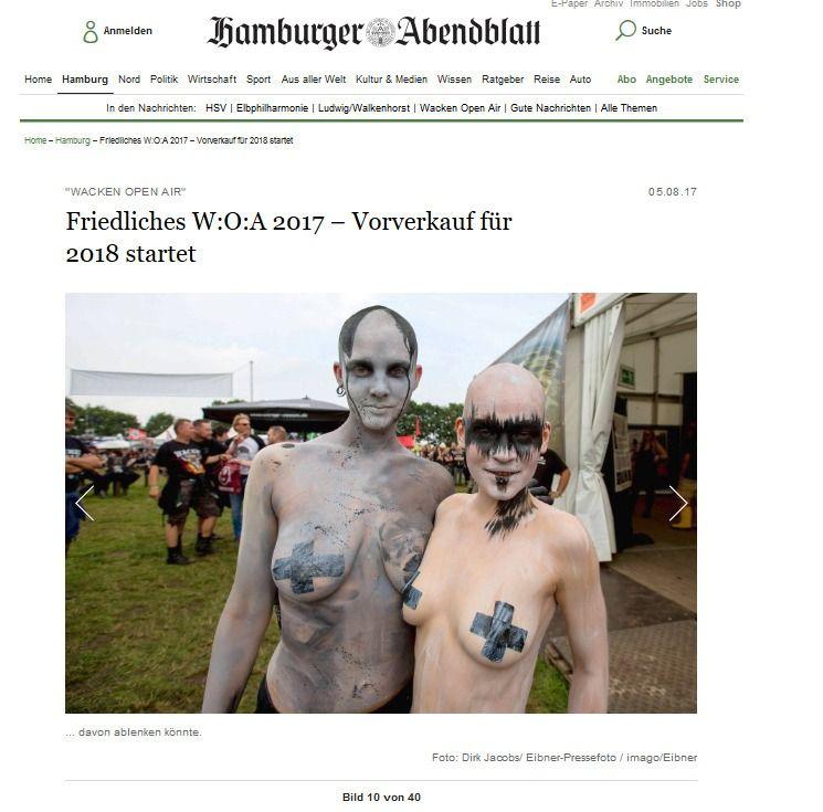 Friedliches W O A 2017 – Vorverkauf für 2018 startet Hamburg Aktuelle News aus den Stadtteilen Hamburger Abendblatt(2)