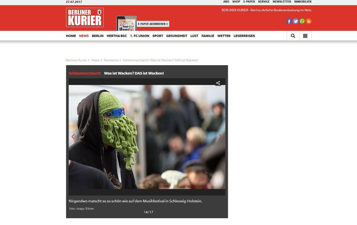 Schlammschlacht Was ist Wacken DAS ist Wacken Berliner Kurier.de(4)