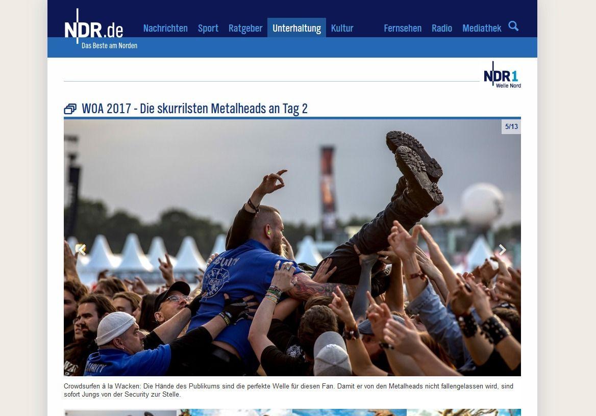 WOA 2017 Die skurrilsten Metalheads an Tag 2 NDR.de Unterhaltung Events Wacken Open Air 2017(1)