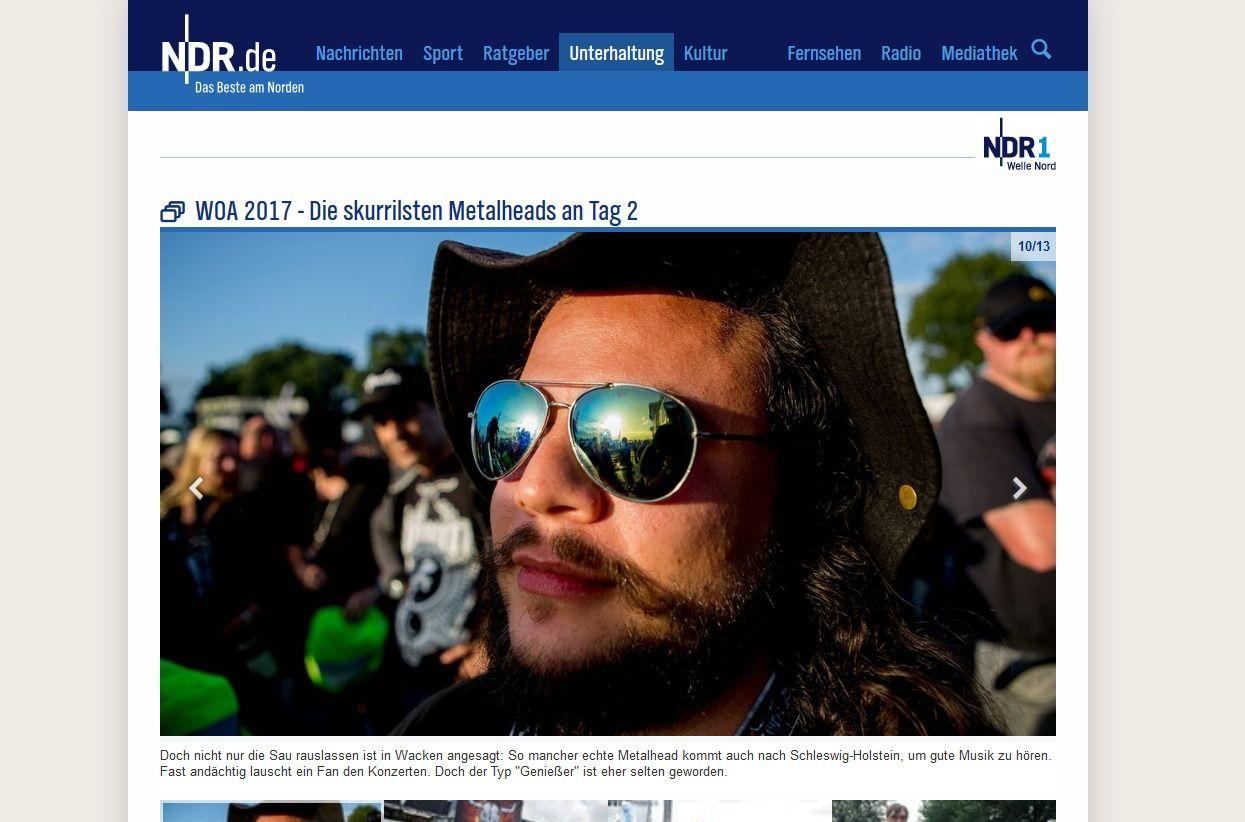 WOA 2017 Die skurrilsten Metalheads an Tag 2 NDR.de Unterhaltung Events Wacken Open Air 2017(2)
