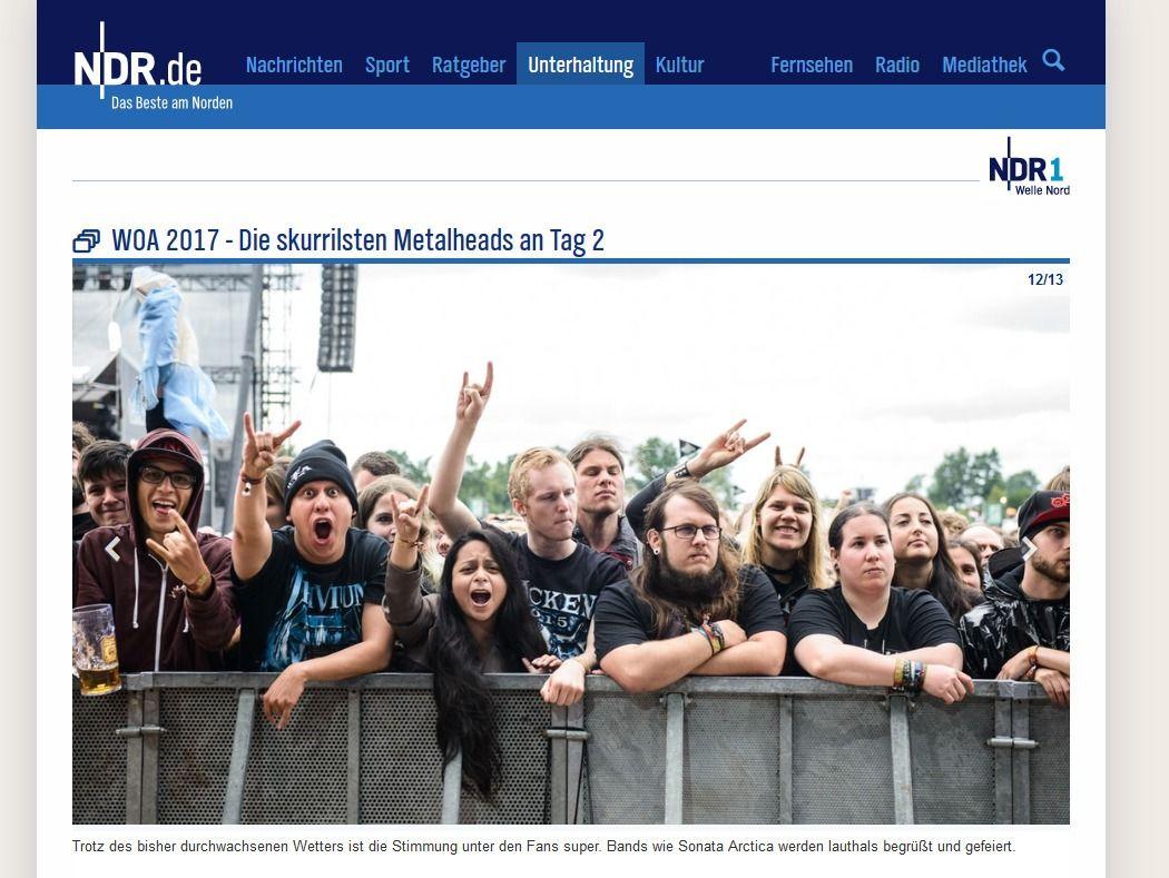 WOA 2017 Die skurrilsten Metalheads an Tag 2 NDR.de Unterhaltung Events Wacken Open Air 201755