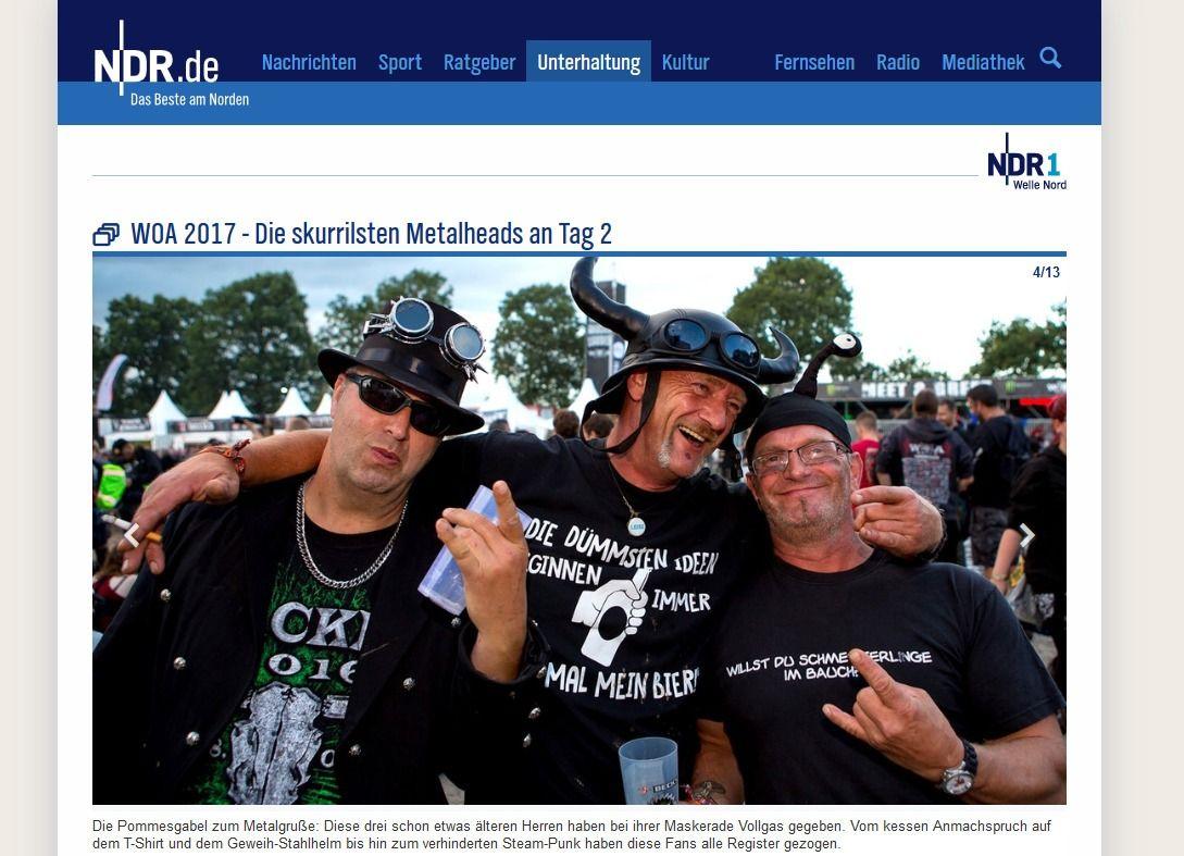 WOA 2017 Die skurrilsten Metalheads an Tag 2 NDR.de Unterhaltung Events Wacken Open Air 2017555