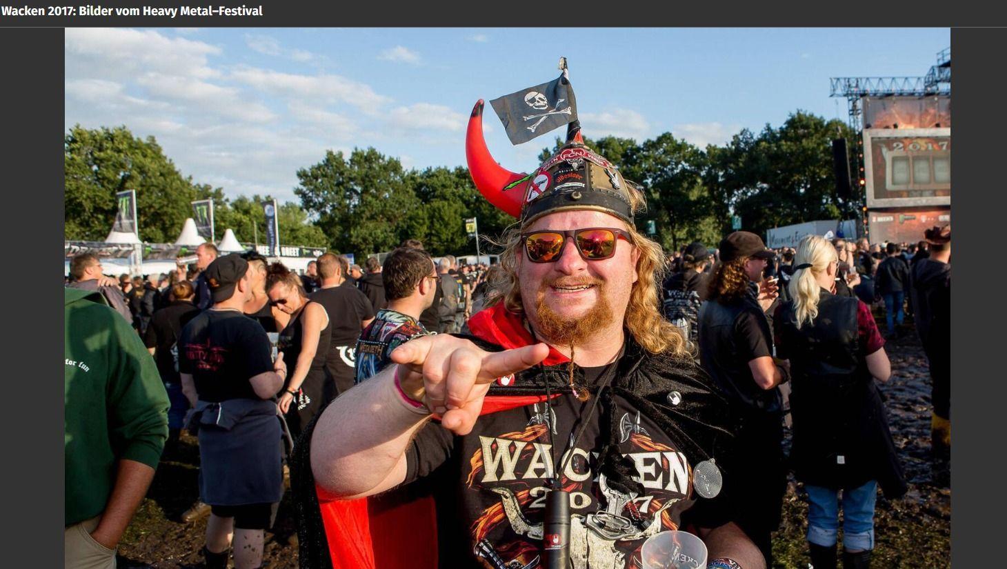 Wacken 2017 Bilder vom Heavy Metal–Festival(2)