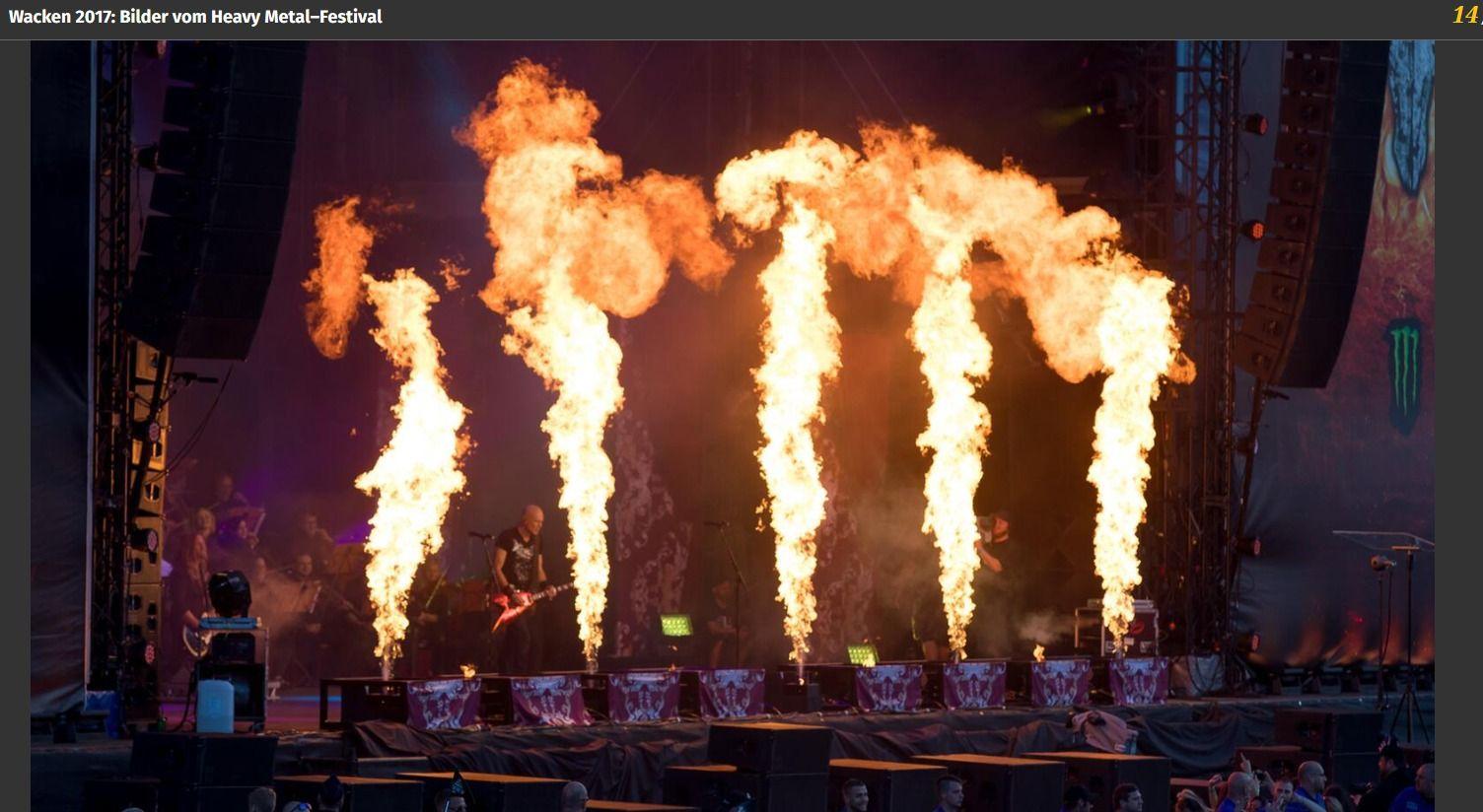 Wacken 2017 Bilder vom Heavy Metal–Festival(3)