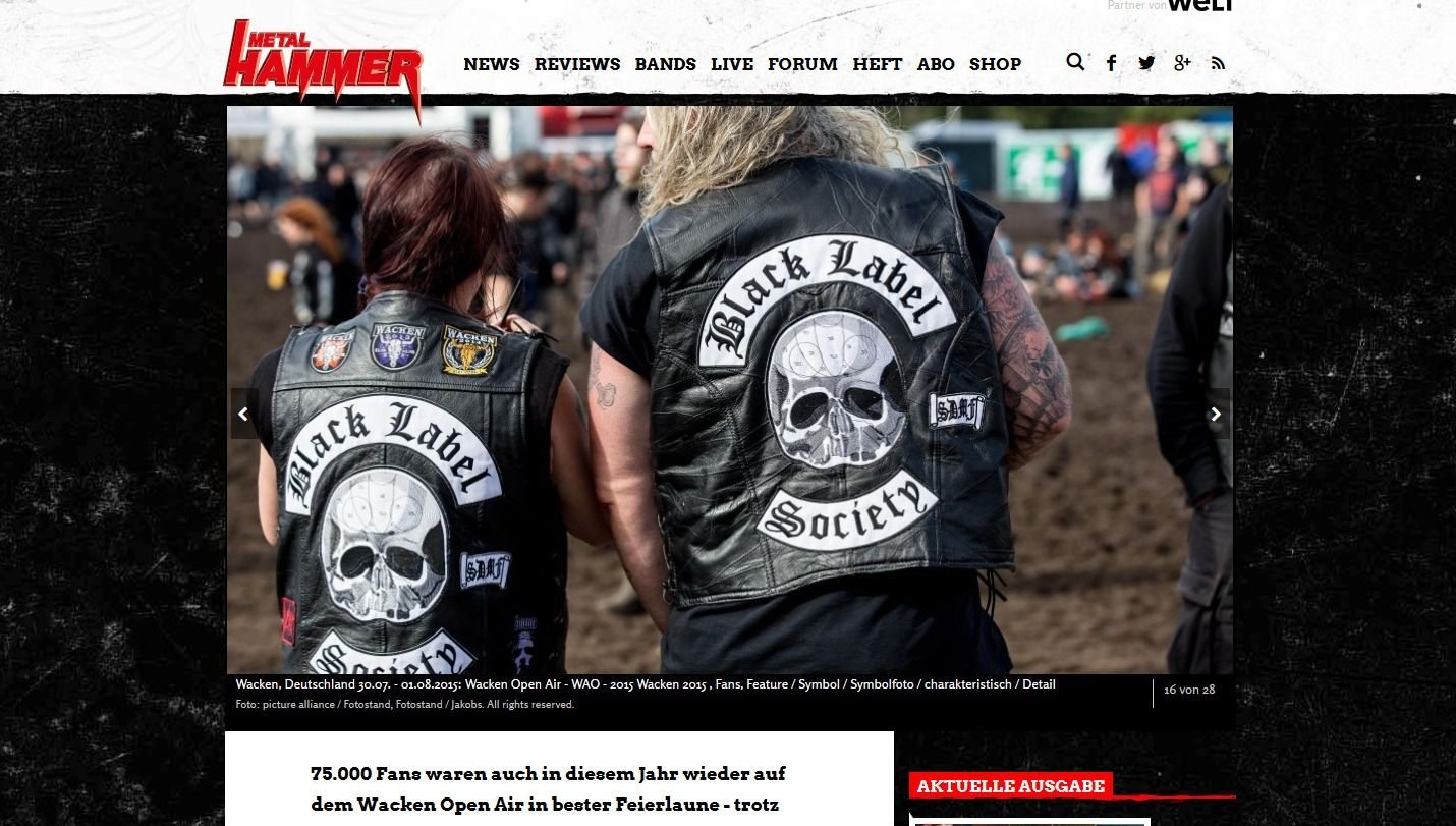 Wacken Open Air 2015 Galerie der Fans in Wacken(4)