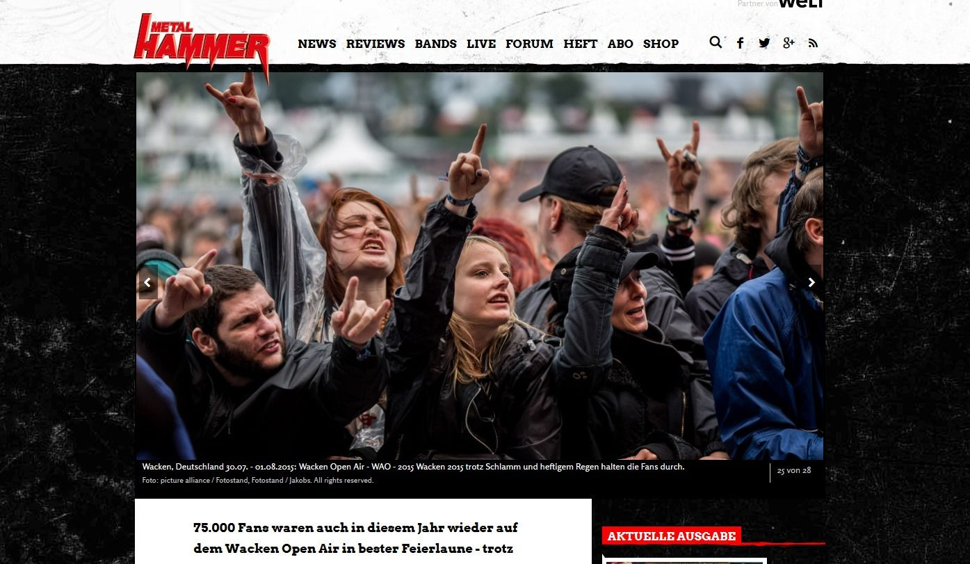 Wacken Open Air 2015 Galerie der Fans in Wacken(6)