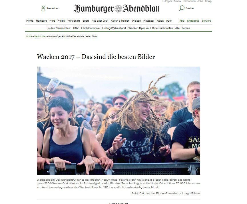 Wacken Open Air 2017 – Das sind die besten Bilder Aktuelle Nachrichten Hamburger Abendblatt