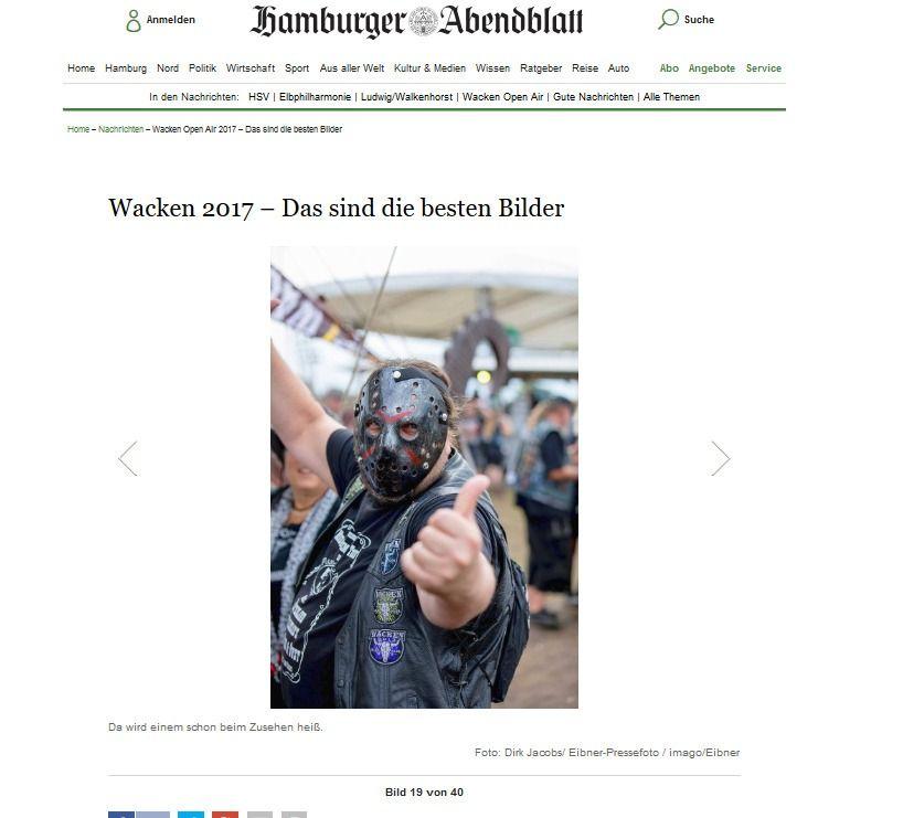 Wacken Open Air 2017 – Das sind die besten Bilder Aktuelle Nachrichten Hamburger Abendblatt(8)
