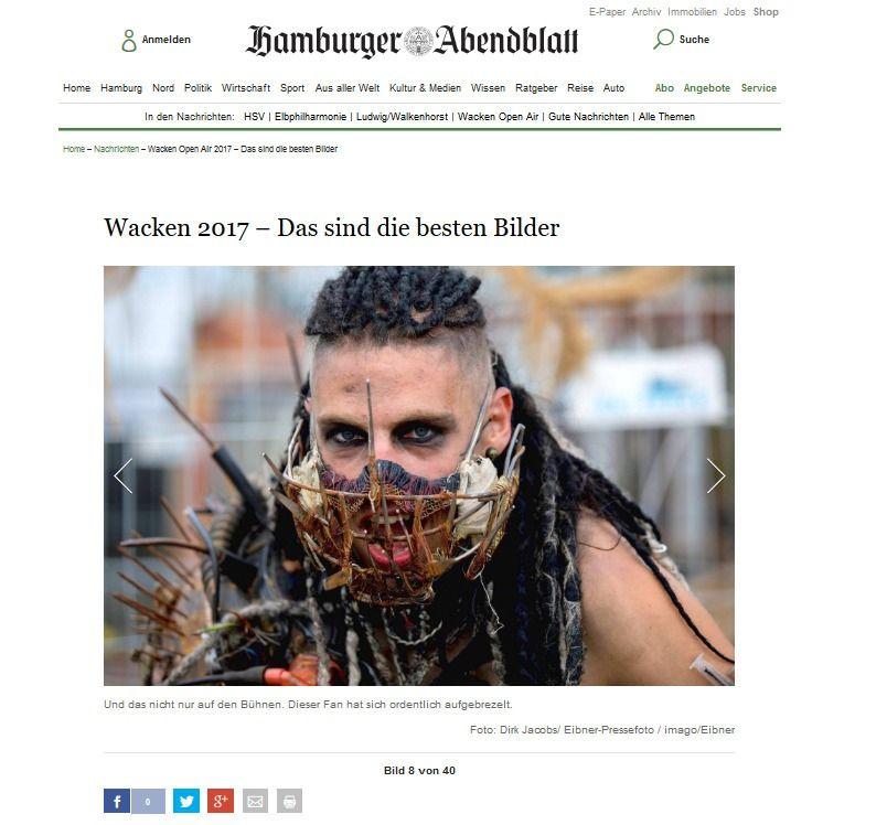 Wacken Open Air 2017 – Das sind die besten Bilder Aktuelle Nachrichten Hamburger Abendblatt(1)