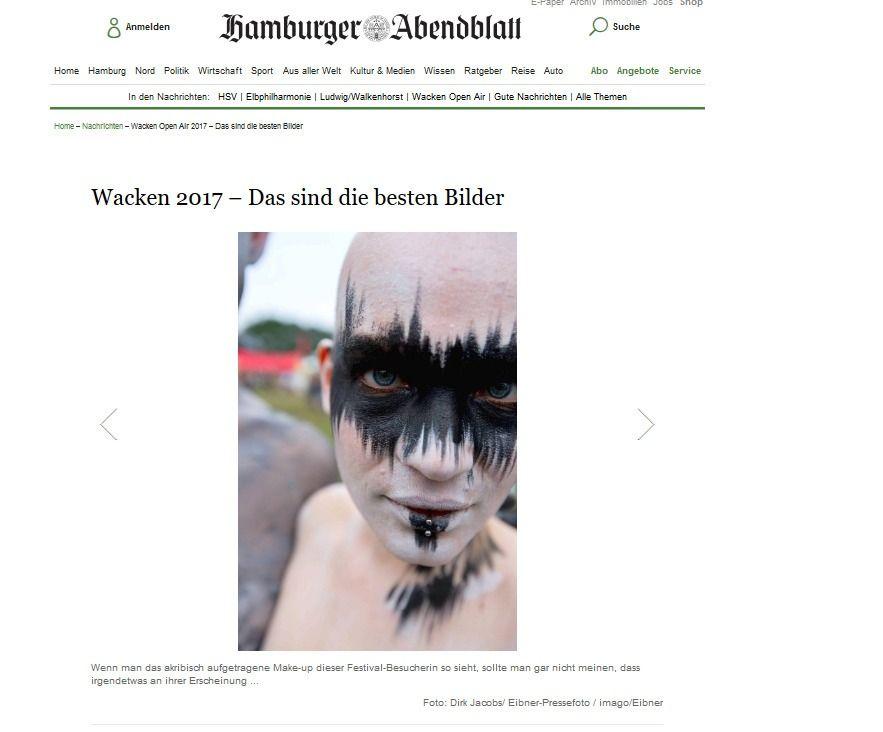 Wacken Open Air 2017 – Das sind die besten Bilder Aktuelle Nachrichten Hamburger Abendblatt(2)