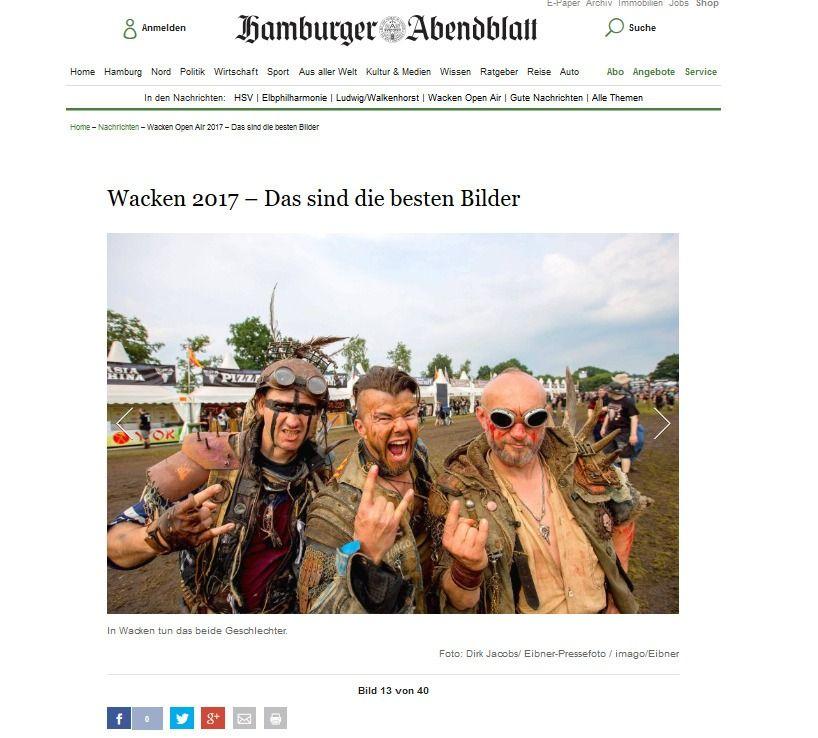 Wacken Open Air 2017 – Das sind die besten Bilder Aktuelle Nachrichten Hamburger Abendblatt(3)