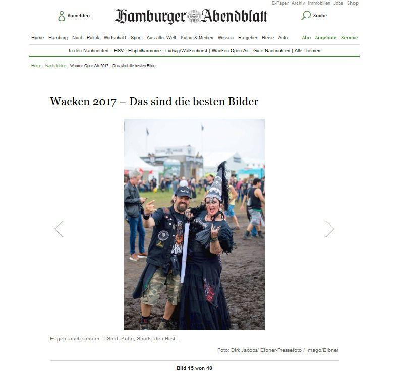 Wacken Open Air 2017 – Das sind die besten Bilder Aktuelle Nachrichten Hamburger Abendblatt(5)