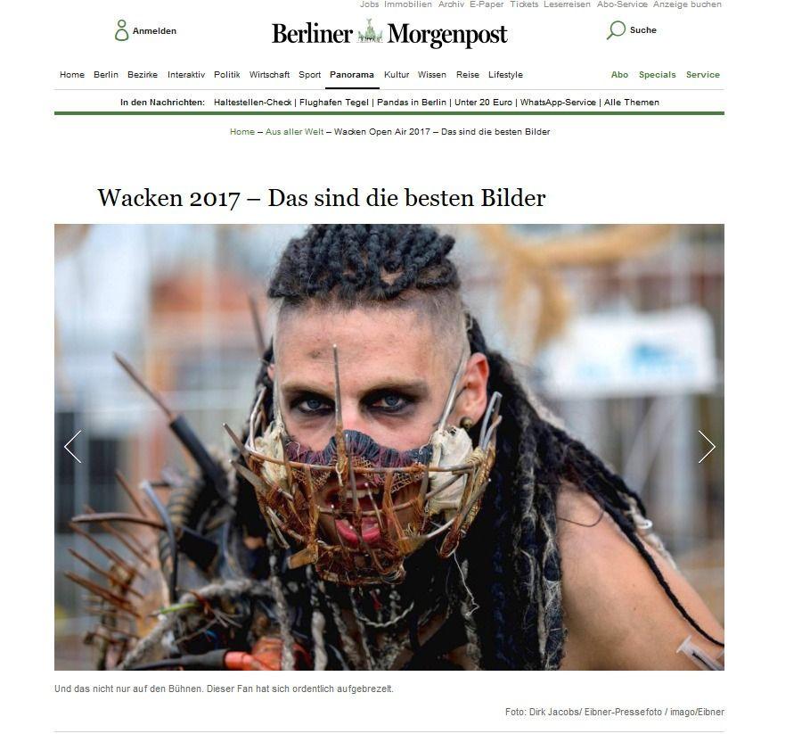 Wacken Open Air 2017 – Das sind die besten Bilder Vermischtes Berliner Morgenpost(1)