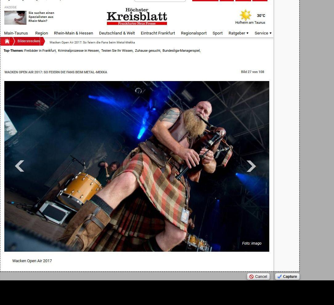 Wacken Open Air 2017 So feiern die Fans beim Metal Mekka Bild 28 von 108 Bildergalerie Höchster Kreisblatt(11)