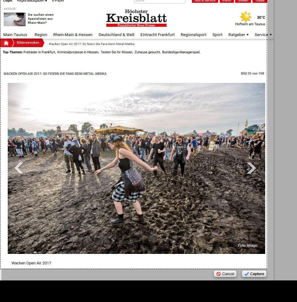 Wacken Open Air 2017 So feiern die Fans beim Metal Mekka Bild 28 von 108 Bildergalerie Höchster Kreisblatt(12)