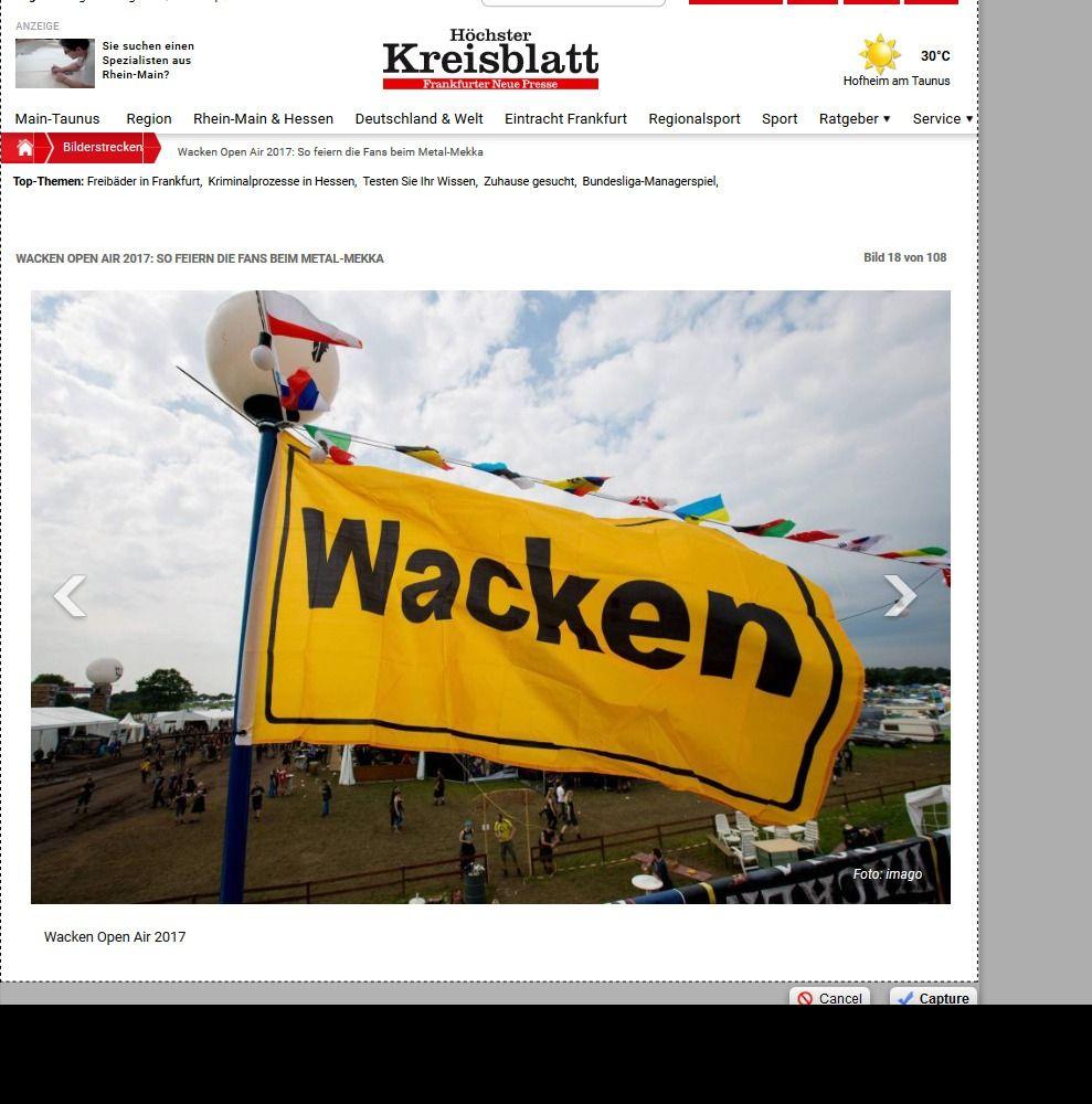 Wacken Open Air 2017 So feiern die Fans beim Metal Mekka Bild 28 von 108 Bildergalerie Höchster Kreisblatt(13)