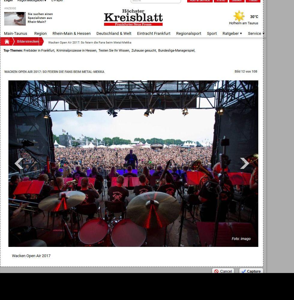 Wacken Open Air 2017 So feiern die Fans beim Metal Mekka Bild 28 von 108 Bildergalerie Höchster Kreisblatt(14)