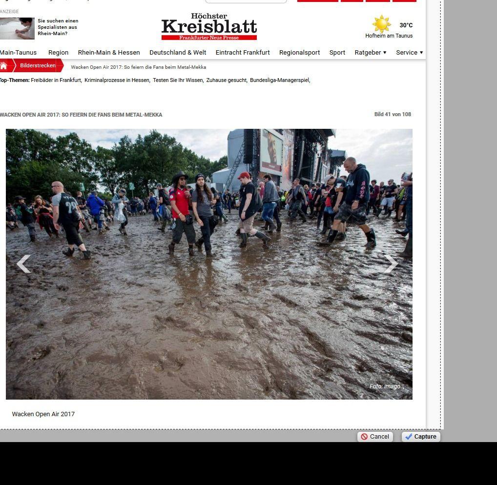 Wacken Open Air 2017 So feiern die Fans beim Metal Mekka Bild 28 von 108 Bildergalerie Höchster Kreisblatt(4)