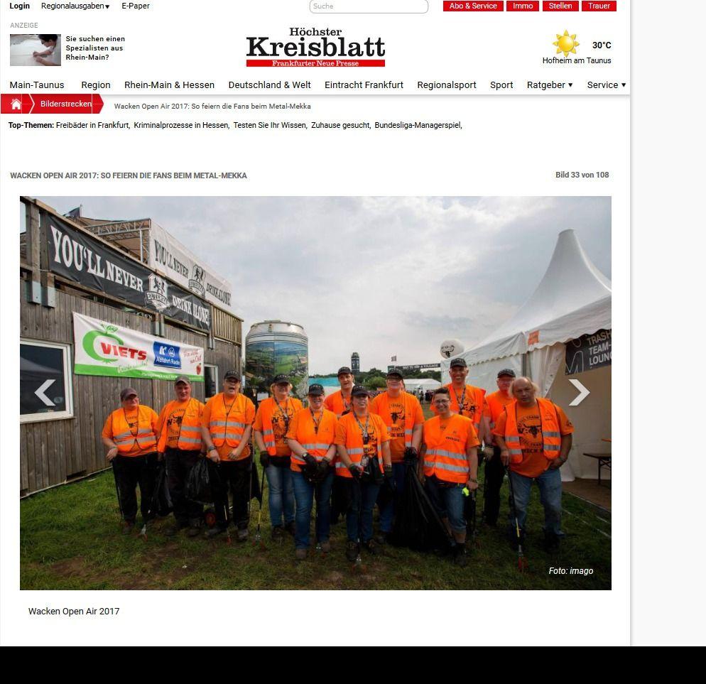 Wacken Open Air 2017 So feiern die Fans beim Metal Mekka Bild 28 von 108 Bildergalerie Höchster Kreisblatt(7)